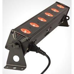 BARRE A 6 LED RGBW 4-EN-1 AVEC TELECOMMANDE & DMX IBIZA