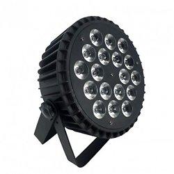 PAR LED 1812 X II 6 EN 1 RGBWA+UV NICOLS