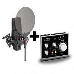 PACK MICROPHONE DE STUDIO X1S ID4 SE ELECTRONICS AUDIENT