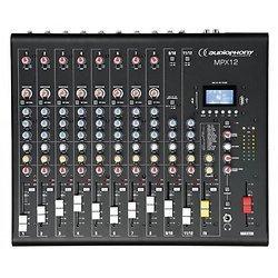 MIXER 12 CANAUX USB/SD/BT MPX 12