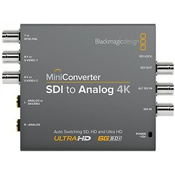 MINI CONVERTER SDI TO ANALOG 4K BLACK MAGIC DESIGN
