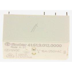 RELAIS 1RT SPDT BOBINE 12VCC CONTACT : 16A 250VAC (6080)