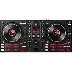 CONTROLEUR DJ 2 VOIES NOIR CARTE SON + 16 PADS