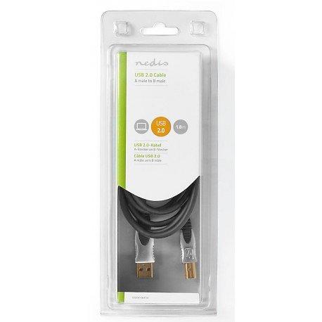 CABLE USB A - USB B 1.80 METRE 1.80 METRES MODELE PRO