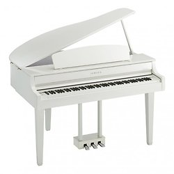 PIANO NUMERIQUE CLAVINOVA BLANC CLP 765