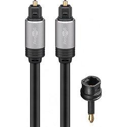 CORDON PRO FIBRE OPTIQUE AVEC ADAPTATEUR 3.5mm - 5 METRES