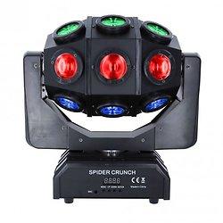 EFFET A LED CREE 18X10W 4EN1 RGBW