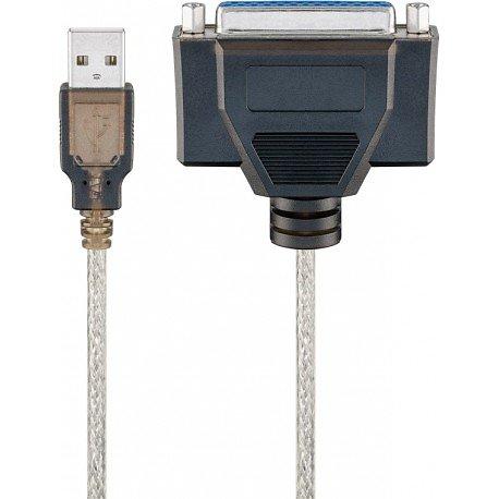 CABLE D IMPRIMANTE USB TRANSPARENT