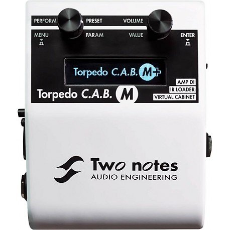 LOAD BOX TWO NOTES TORPEDO CAB M+