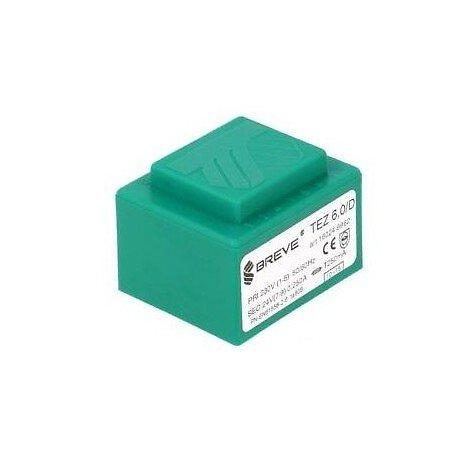 TRANSFORMATEUR MOULE ENTREE 230VAC SORTIE 12VAC 0.5A 6VA (80120)