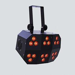 PROJECTEUR 18 LEDS 8W RGBAW DMX