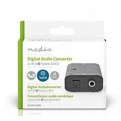 CONVERTISSEUR ANALOGIQUE VERS AUDIO NUMERIQUE 2 RCA > RCA/OPTIQUE