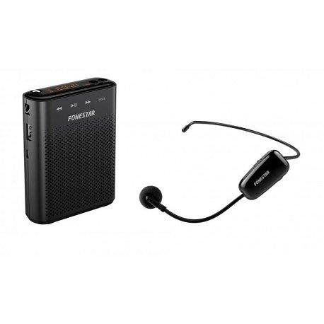AMPLIFICATEUR et ENREGISTREUR PORTABLE USB MICRO SD MP3 UHF