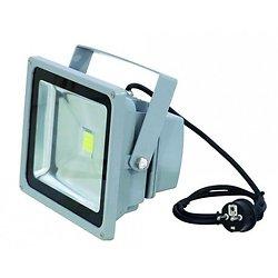 PROJECTEUR LED BLANCHE 30W IP54 FL-30 COB 3200°K 120°