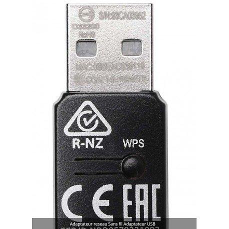 MINI ADAPTATEUR USB SANS FIL 300 Mbit/s