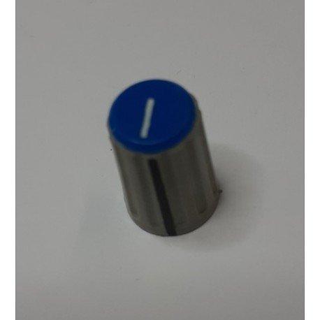 BOUTON PLASTIQUE BLEU ø 1 X 1.50 CM