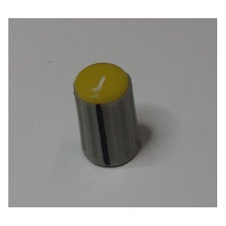 BOUTON PLASTIQUE JAUNE ø 1 X 1.50 CM