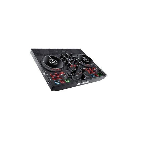 CONTROLEUR DJ 2 VOIES + 8 PADS + MONITORS