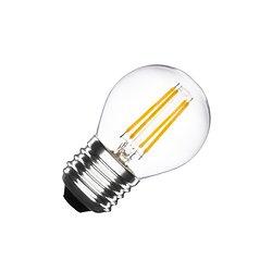 AMPOULE LED E27 FILAMENT G45 4W BLANC CHAUD