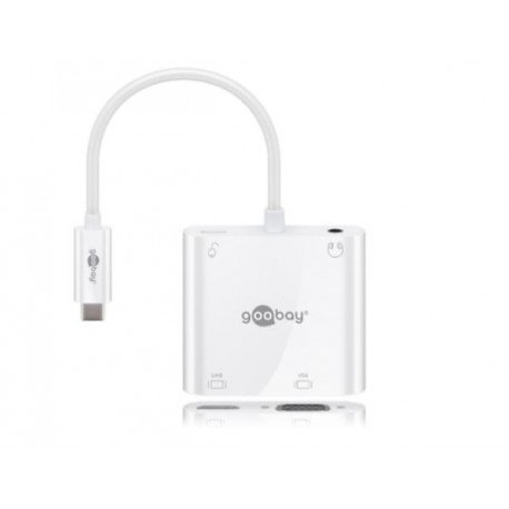ADAPTATEUR USB-C MULTIPORT HDMI + VGA