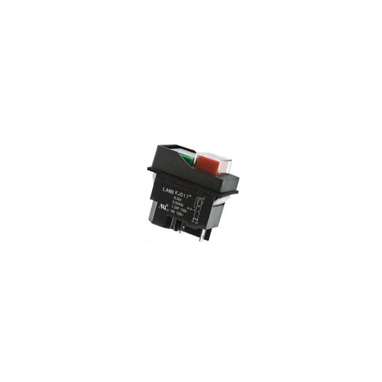COMMUTATEUR A BOUTON POUSSOIR INDUSTRIEL DPS T 16A 230V