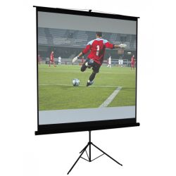 ECRAN VIDEO BLANC MAT TREPIED 200 X 200 CM