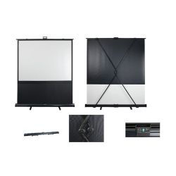 ECRAN DE PROJECTION PORTABLE 162.5 X 122 CM
