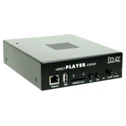 VIDEO PLAYER 250 HD > LECTEUR AUDIO/VIDEO HD AUTONOME, CONNECTE, INTERACTIF