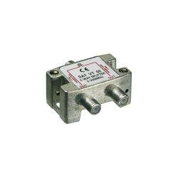 BOITIER DISTRIBUTION 2 VOIES FICHE F 5-2450 MHz (80120)