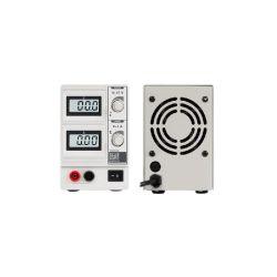 ALIMENTATION DE LABORATOIRE 0-15 VCC / 0-3 A MAX AVEC DOUBLE AFFICHEUR LCD