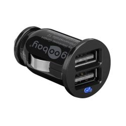 DOUBLE CHARGEUR USB ALLUME CIGARE 12V/24V 2X1.05A - 1X2.1A