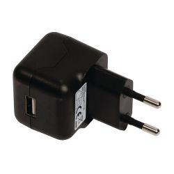 CHARGEUR USB 230 Vca > 5 Vcc USB 2100mA/2.1A