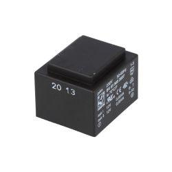 TRANSFORMATEUR MOULE 2X12Vca 2X0.079A 1.9VA 32.5X27.5X23.8mm (80120)