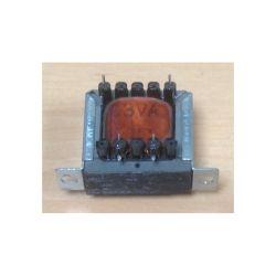 TRANSFO CHASSIS ENTREE : 220V SORTIE : 1X15V 3VA 0,2A 35x32x30mm