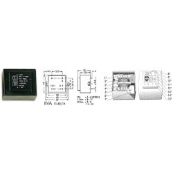 TRANSFO MOULE 8VA 2 x 15V / 2 x 0.250A
