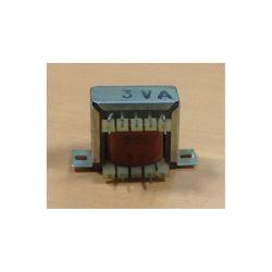 TRANSFO CHASSIS ENTREE : 220V SORTIE : 1X20V 3VA 0,15A 34x32x30mm