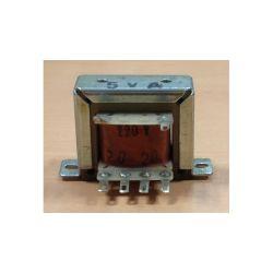 TRANSFO CHASSIS ENTREE : 220V SORTIE : 2X20V 0,125A 5VA 47x42x40mm
