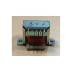 TRANSFO CHASSIS ENTREE : 220V SORTIE : 1X28V 3VA 0,107A 34x32x30mm