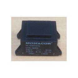 TRANSFORMATEUR MOULE ENTREE : 230V SORTIE : 2X9V 16VA 2X0,88A 75x48x40mm