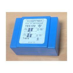 TRANSFO MOULE ENTREE :2X120V SORTIE :2X9V 19,8VA 2X1,1A 71X55X35mm (100150)