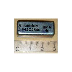 RELAIS CELDUC BOBINE 5Vcc 110mA 2RT (6080)