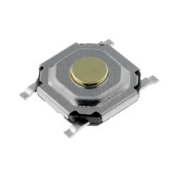 MICROCOMMUTATEUR / TOUCHE CONTACT SPST-NO OFF-(ON) 5.2X5.2mm (6080)