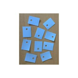 POCHETTE 10 ISOLANTS 16,5X22mm TROU 3mm FIN DE SERIE (6080)