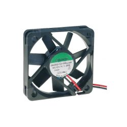 VENTILATEUR 12Vcc 0.12A 1.44W 50X50X10mm 18.6m3/h 26dB 4300RPM (80120)