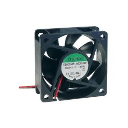 VENTILATEUR 24Vcc 0.075A 1.8W 60X60X25mm 39.7m3/h 33.5dB 4500RPM (100150)