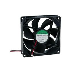 VENTILATEUR 24Vcc 0.087A 2.1W 92X92X25mm 87.55m3/h 34dB 3000RPM (120180)