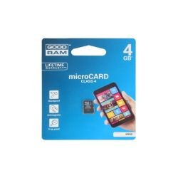 CARTE MEMOIRE MICRO SD HC 4GB - LECTURE 15MB/S - ECRITURE 4MB/S