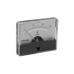 AMPEREMETRE ANALOGIQUE DE TABLEAU 30A CC / 60X47mm (120180)