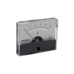 AMPEREMETRE ANALOGIQUE DE TABLEAU 10A CC / 60X47mm (100150)