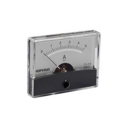 AMPEREMETRE ANALOGIQUE DE TABLEAU 5A CC / 60X47mm (100150)